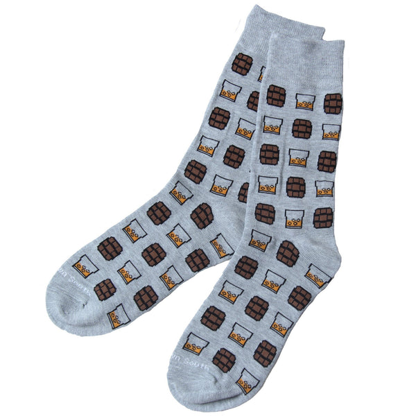 On the Rocks Grey Socks - Bourbon Outfitter