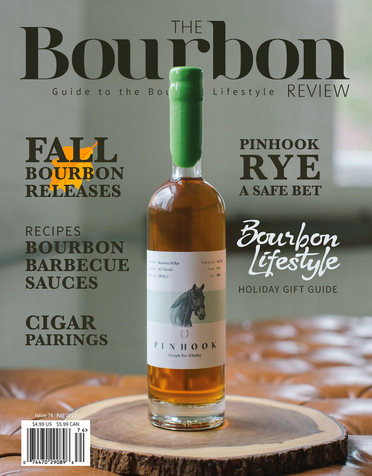 The Bourbon Review Magazine - Issue 74 - Fall 2017