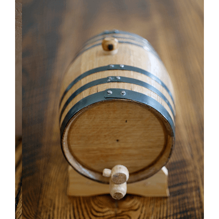 Mini Oak Bourbon Barrel