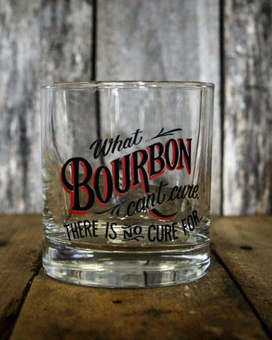 BOURBON CURE: Rocks Glass, 9 oz.