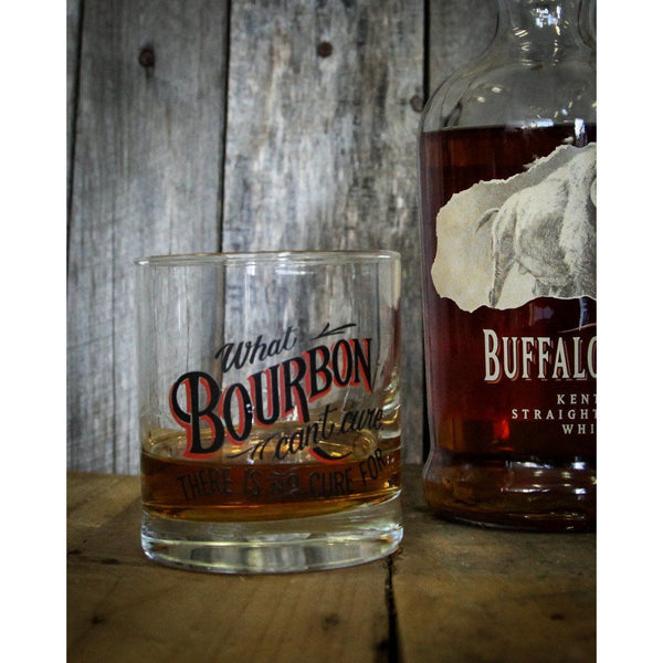 BOURBON CURE: Rocks Glass, 9 oz. - Bourbon Outfitters