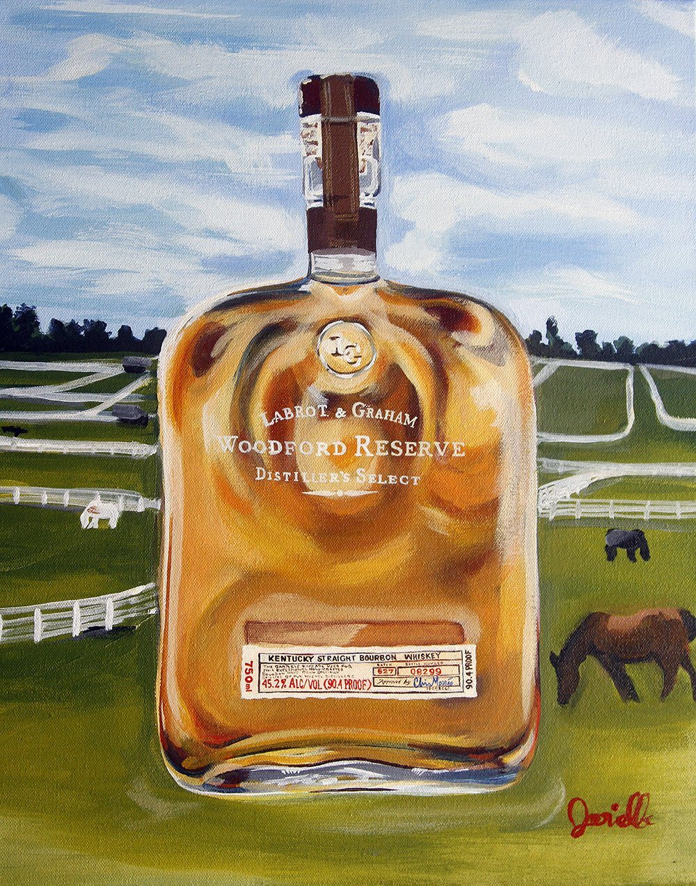 """Reserved for Winners"" Print by Kentucky Pop Art - Bourbon Outfitter"