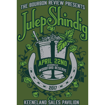 Bourbon Review Julep Shindig Poster 2017 - Bourbon Outfitter