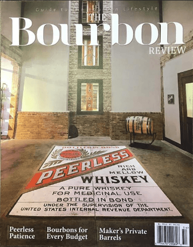 The Bourbon Review Magazine - Issue 54 - Winter 2015-2016