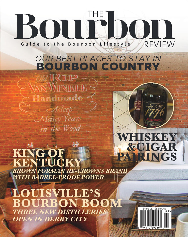 The Bourbon Review Magazine - Issue 82 - Spring 2018