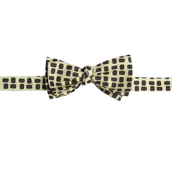 Barrel Aged Bowtie, Yellow - Bourbon Outfitter