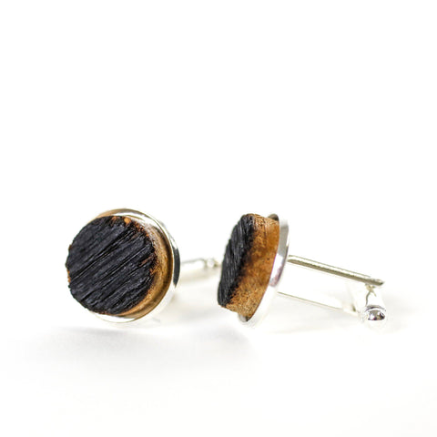 Blanton's Barrel Stave Cufflinks