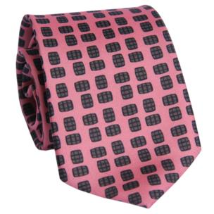 Barrel Aged Necktie, Pink - Bourbon Outfitter