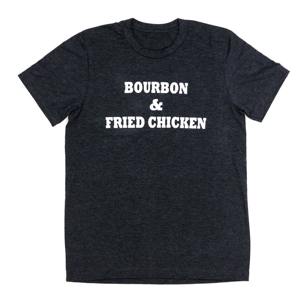 Bourbon & Fried Chicken Unisex T-Shirt - Bourbon Outfitter
