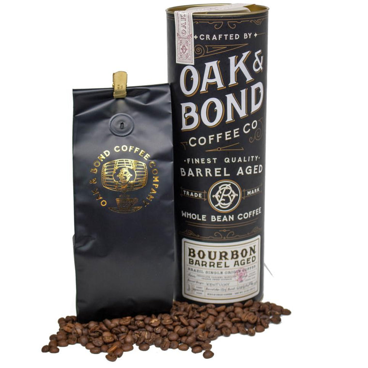 Bourbon Barrel Aged Brazil Single Coffee (Whole Bean)