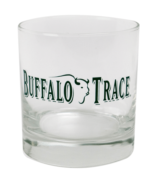 Buffalo Trace Old Fashioned Rocks Glass - Bourbon Outfitter