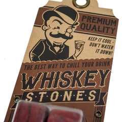 Whiskey Stones - Red Jasper - Bourbon Outfitter