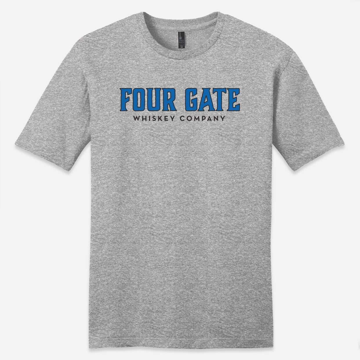 Four Gate Whiskey Company Logo T-Shirt