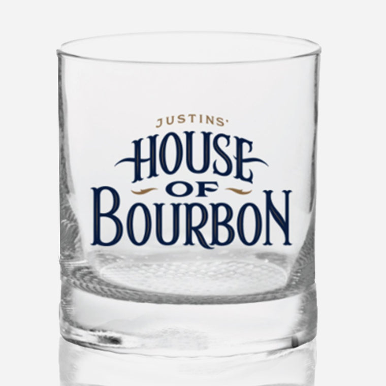 Justins' House of Bourbon Rocks Glass