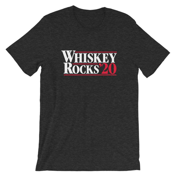 Whiskey Rocks 2020 - Unisex T-Shirt - Bourbon Outfitter