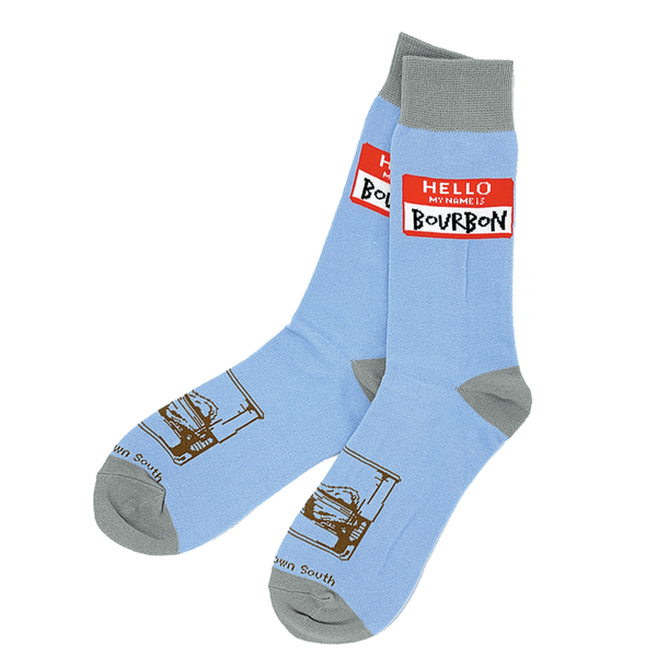 My Name Is Bourbon Socks - Bourbon Outfitter