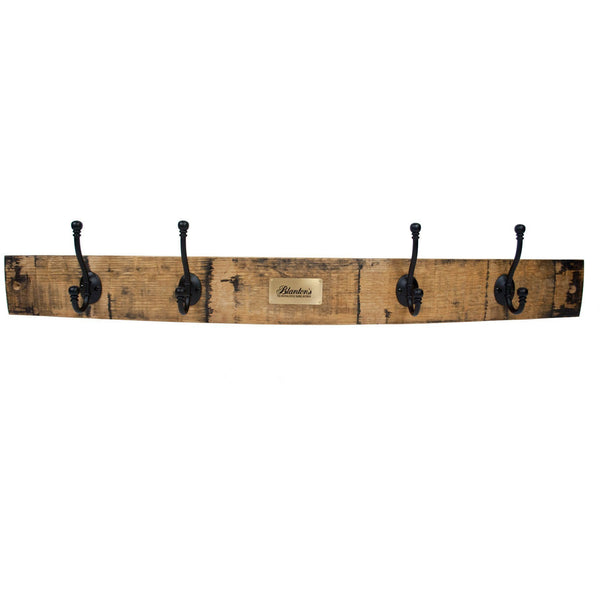 Blanton's Barrel Stave Coat Rack
