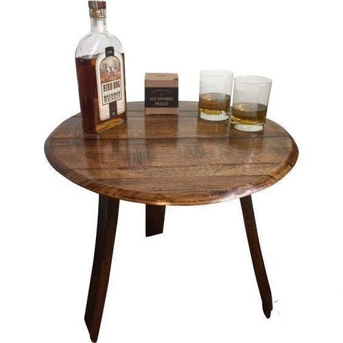 Reclaimed Bourbon Barrel Furniture Tables