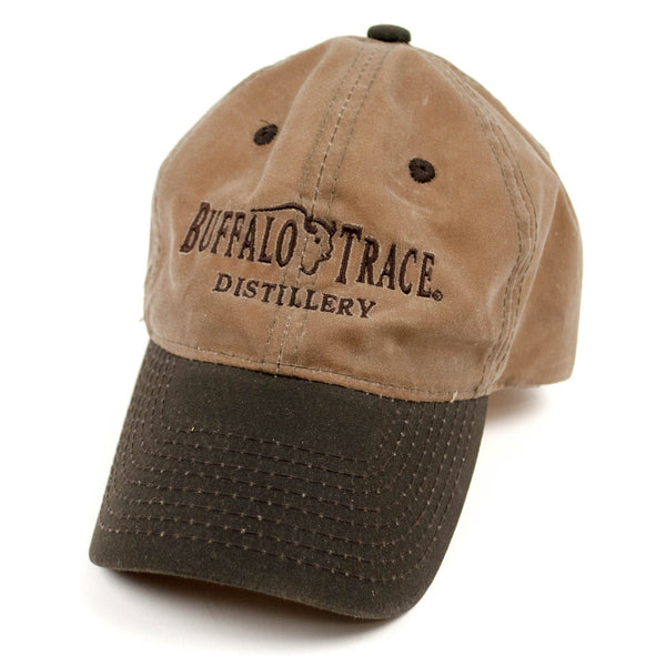 Buffalo Trace Two-Toned Waxed Canvas Hat - Bourbon Outfitter