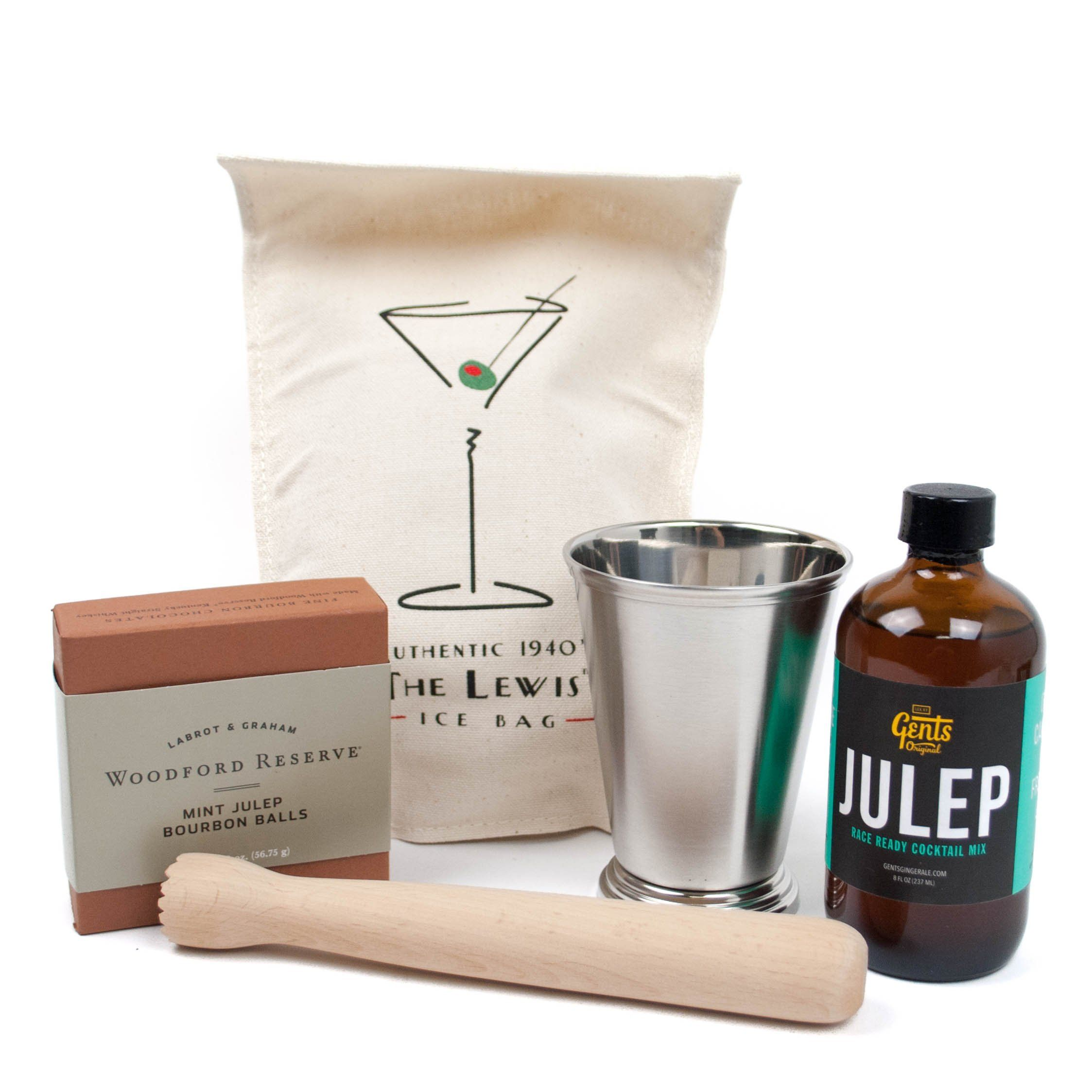 Kentucky Mint Julep Gift Set - Bourbon Outfitter