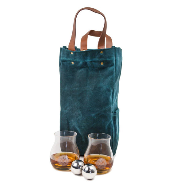 Bourbon Traveler Series: Bourbon Chiller Set - Bourbon Outfitter