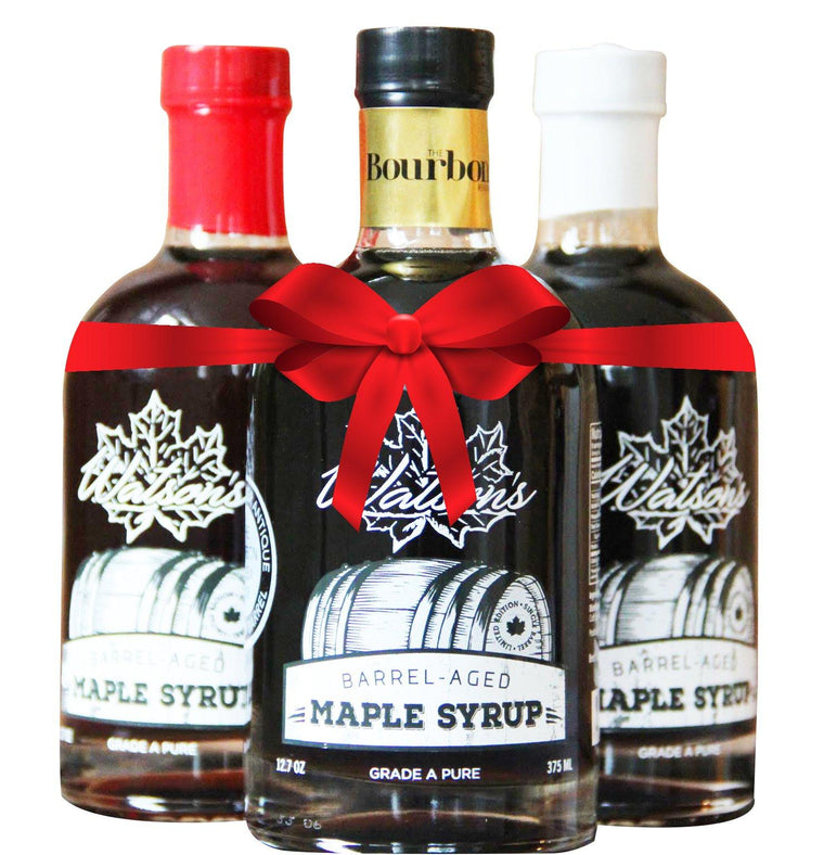 Watson's Barrel Aged Maple Syrup Gift Set