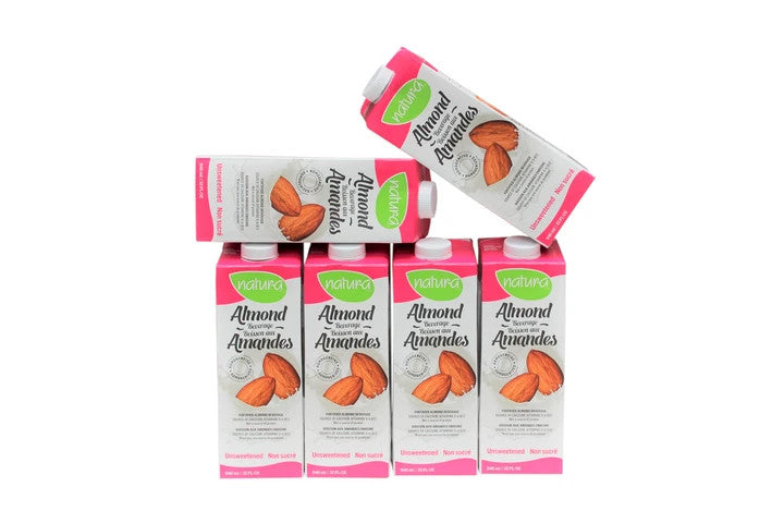 photo of unsweeted almond milk Natur-a