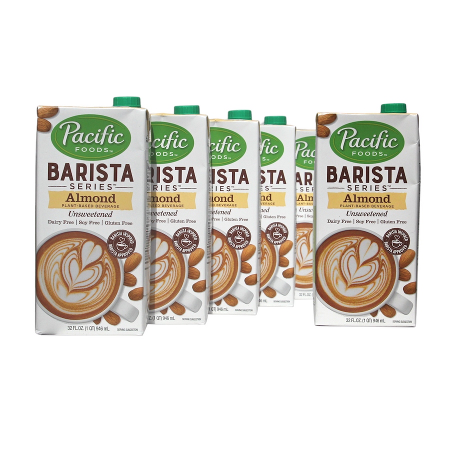 Pacific Foods Barista Series™ Almond Unsweetened (6 units)
