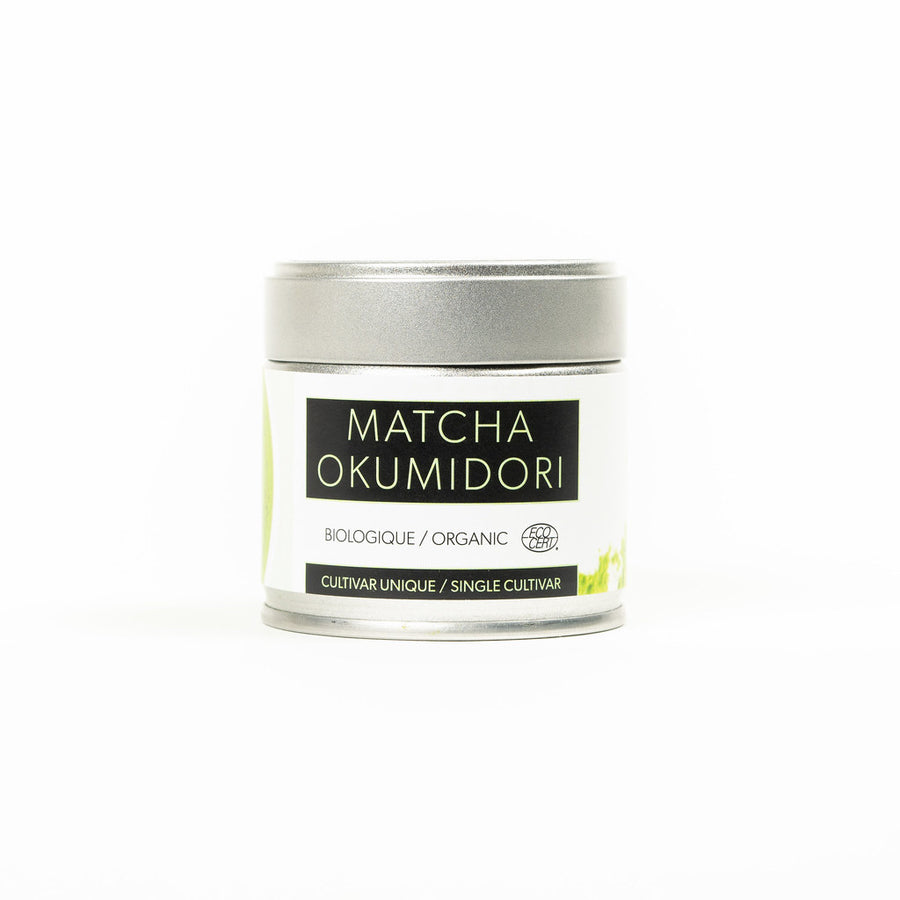 Matcha powder at Leaves House
