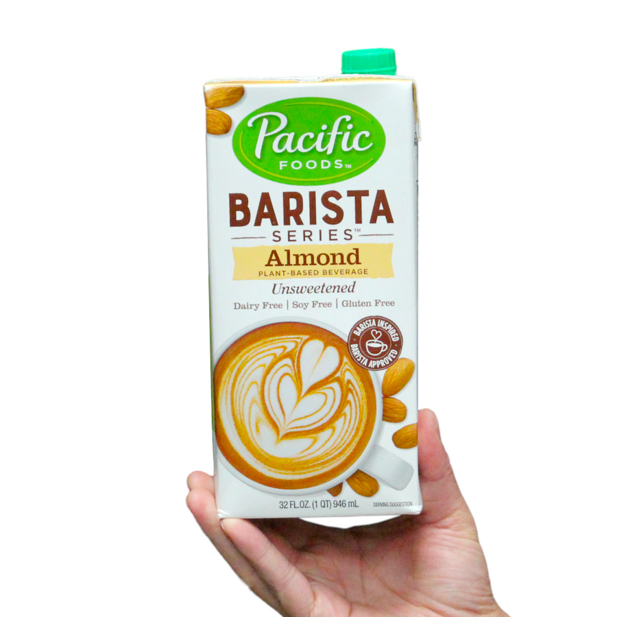 New!! Pacific Foods Barista Series™ Almond Unsweetened (1 unit)