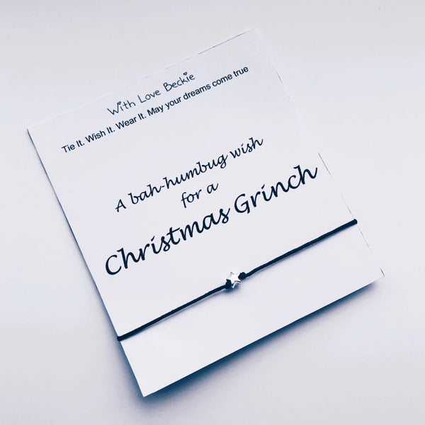 A Bah-Humbug Wish For a Christmas Grinch Wish String