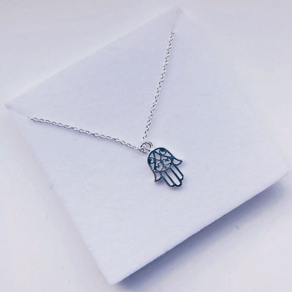 Protection Sterling Silver Necklace