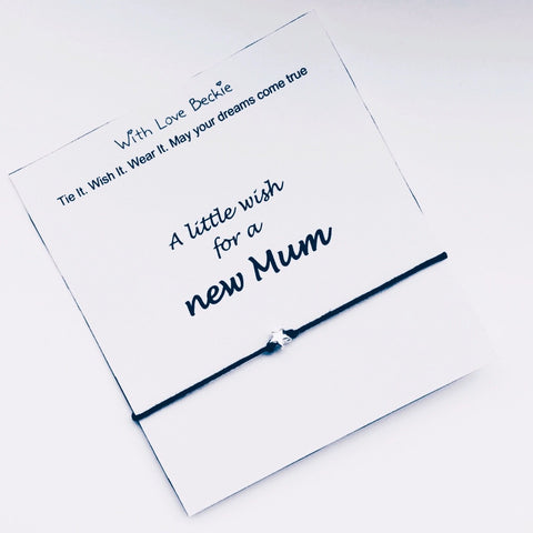 A Little Wish For A New Mum Wish String