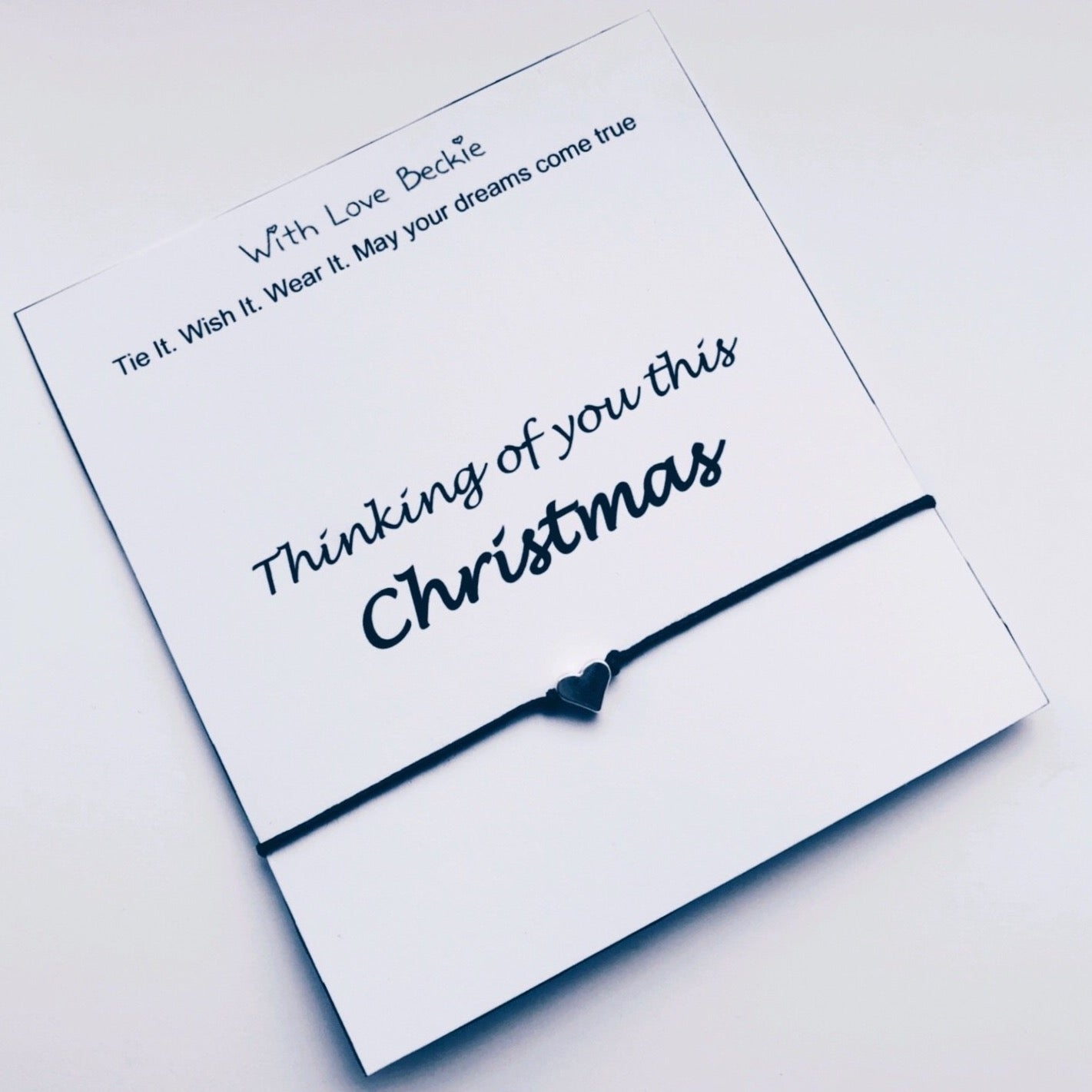 Thinking Of You This Christmas Wish String