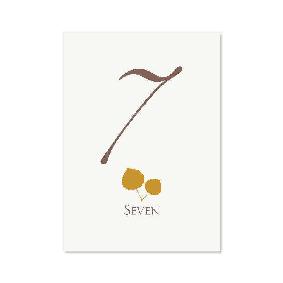 The Aspen1 Table Numbers