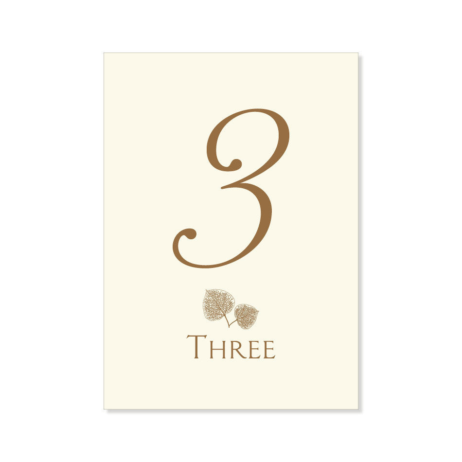 The Aspen2 Table Numbers