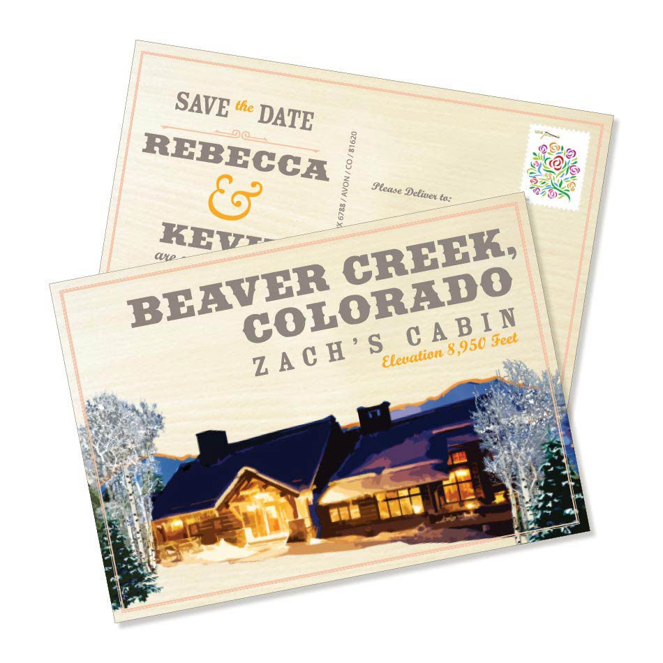 The Beaver Creek Save the Date