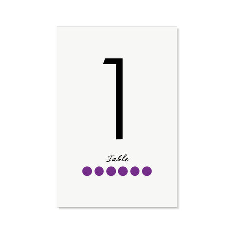 The Chicago Table Numbers