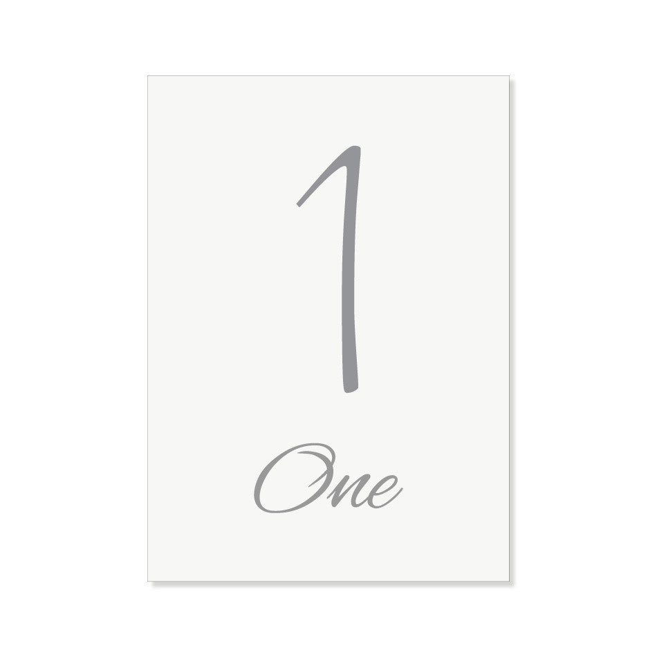 The Provence Table Numbers