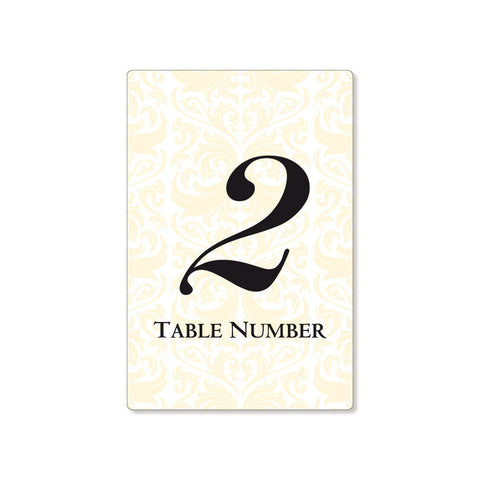 The Vienna Table Numbers