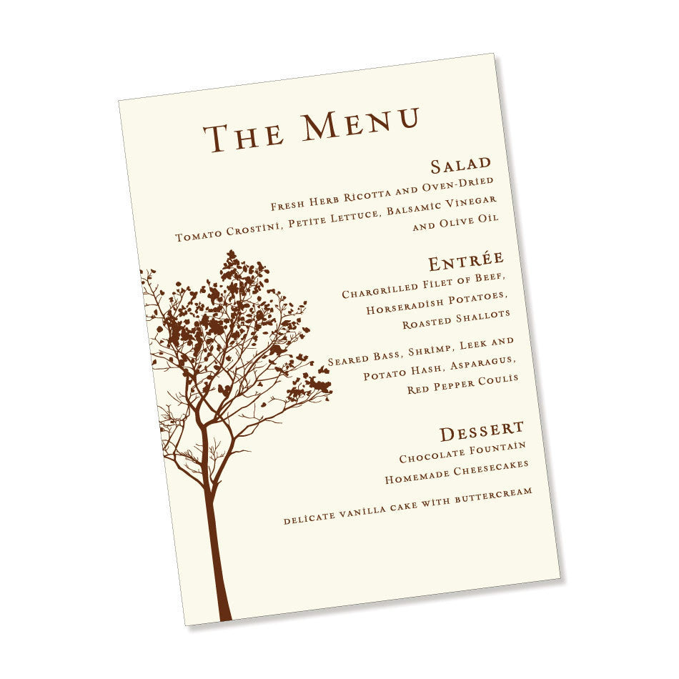 The Walden Menu