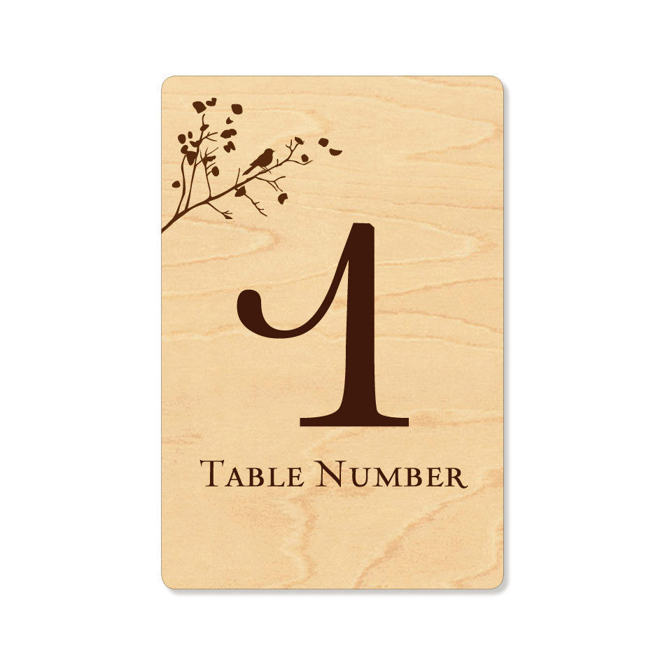 The Walden Table Numbers