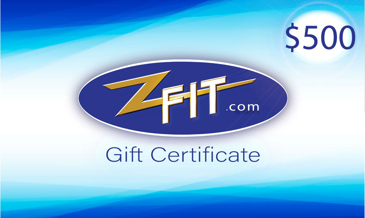ZFIT Gift Certificates