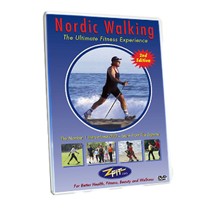 Professional Nordic Walking Instructional DVD + Digital