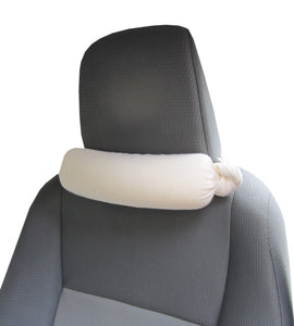 Bamboo French Terry Car Seat Neck Pillow with Scent/Aromatherapy Made in The USA - NeckBliss Pillows