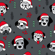 Load image into Gallery viewer, Christmas Dogs Dungarees - PLEASE READ BEFORE ORDERING