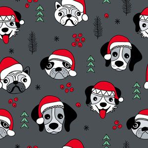 Christmas Dogs Dungarees - PLEASE READ BEFORE ORDERING