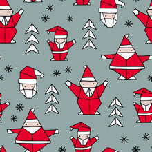 Load image into Gallery viewer, Geometric Christmas Santa Dungarees