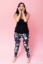 "Load image into Gallery viewer, Skeleton Women's Activewear Leggings - Tall 33"" inside leg"