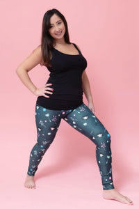 Hedgehog Women's Activewear Leggings Regular Length - PLEASE READ BEFORE ORDERING